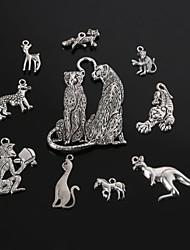 beadia antiek zilver metaal hanger hangers dierlijke vorm diy sieraden hanger