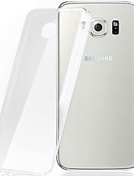Pour Samsung Galaxy Coque Transparente Coque Coque Arrière Coque Couleur Pleine PUT pour Samsung S7 edge S7 S6 edge plus S6 edge S6