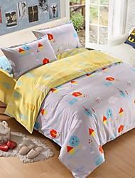 brevets double côté baolisi épais poncées tissu pour ensemble de 4pcs automne / hiver