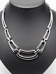 Modische Halsketten Weinlese-Halsketten / Anhänger / Statement Ketten Schmuck Party / Alltag / Normal / Sport Modisch Aleación Silber1