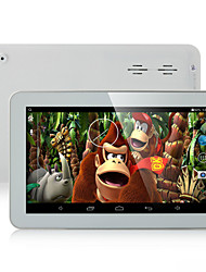 X10 9 polegadas Wifi Android 4.4 Tablet (Quad Core 800*480 512MB + 8GB Sensor Gravitacional)