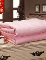 rosa neue warme Bettdecke aus 100% Baumwolle Quilt reiner Seide Decke warme Bettdecke Heimtextilien silk Steppdecken Bettwäsche-Sets