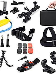 Acessórios para GoPro Molduras / Capa Protetora / Monopé / Tripé / Bolsas / Parafuso / Boje / Alças / Acessório KitTudo em um /