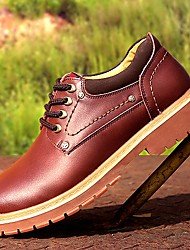 Men's Shoes Amir New Fashion Hot Sale Office & Career/Casual Leather Oxfords Black/Brown/Yellow