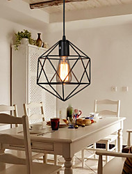 E27 5-15㎡ Geometrical Line Diamond Wrought Iron Chandelier Pendant Lights LED Modern/Contemporary