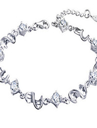 Weimei Women 925 Silver-Plated Bracelet , Party / Work / Casual