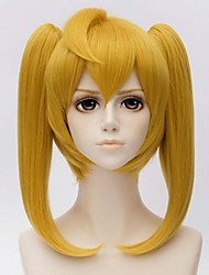 MATO BUY Anime Seraph of the end Character Mitsuba Sanguu 30cm Short Wig Golden Cosplay Wigs Peruca