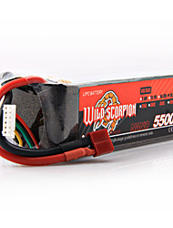 WILD SCORPION Lithium Battery 18.5V/5S/5500mAh/30C FPV Six Axis Four Axis Vehicle Power Battery