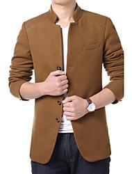 Men's jacket fashion casual jacket windbreaker jacket autumn new trend of men's casual jacket coat.
