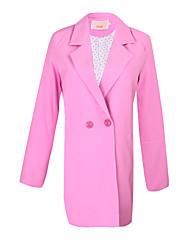 Costumes & Blazers ( Polyester ) Informel Col roulé à Manches longues pour Femme