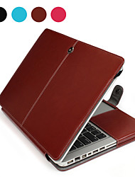 "ASLING Case for Macbook Air 15.4"" Business Solid Color PU Leather Material Business Notebook PU Leather"