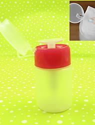 Ferramentas rosa branca bomba frasco vazio dispenser profissionais unha 1pc para a arte unha polonês líquido removedor