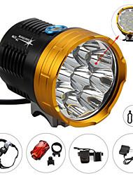 Lights Headlamps / Bike Lights LED 12000 Lumens 4 Mode Cree XM-L2 AAAWaterproof / Rechargeable / Impact Resistant / Strike Bezel /