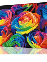 DIY digitales Ölgemälde Frame Familie Spaß Malerei alle von mir bunten x5055