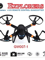 2015 New Design Product GW007-1 2.4G 6 Axis Global Drone With 0.3MP Camera With Light GW-089