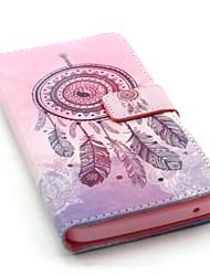 """Для Кейс для Wiko Кошелек / Бумажник для карт / со стендом / Флип / С узором Кейс для Чехол Кейс для Рисунок """"Ловец снов"""" Твердый"""