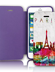 Traveling Around the World PU Leather Case with Screen Protector and USB Cable and Stylus for iPhone 5/5S