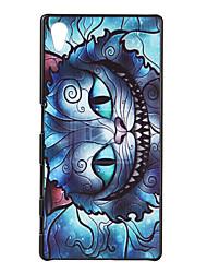 Pour Coque Sony / Xperia Z5 Motif Coque Coque Arrière Coque Chat Dur Polycarbonate pour Sony Sony Xperia Z5 / Sony Xperia M4 Aqua