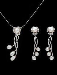 Women's Imitation Pearl / Alloy Jewelry Set Imitation Pearl