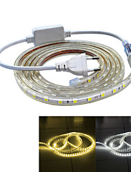 Jiawen Waterproof 26W 160LM 120x5050 SMD LED Flexible Light Strip (2M-Length / 220V)