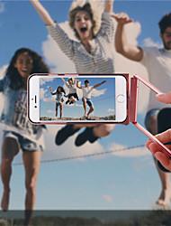 360 grados gira la caja del teléfono móvil de metal con función de temporizador del bluetooth para el iphone 6 / 6s