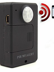 A9 PIR MP. Alert Infrared Induction Car Anti-theft Alarm Device High Sensitivity Long Standby Motion Detection (EU Plug)
