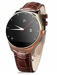 banda de cuero r11 ritmo cardíaco bluetooth reloj inteligente