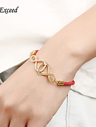 D Exceed Zircon Crystal Beads Inserted Gold Chain Bracelet for Women Multi Color String Bracelets  Jewelry