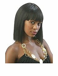 Top Quality Natural Color Bob Syntheic  Wig African Women Lady Lovely Medium Wig