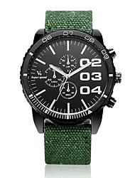 V6® Men's Racing Design Fabric Strap Quartz Casual Watch Cool Watch Unique Watch