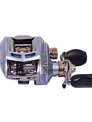 Haibo 7 Bearing Baitcast Fishing Reel Gear Ratio 7.2:1  Alu Body Fresh Water Left Handle