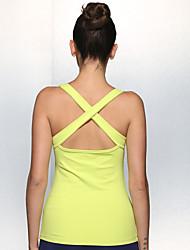 Iyoga ® Yoga Tops Antistatic / Limits Bacteria / Sweat-wicking / Soft Stretchy Sports Wear Yoga Women's