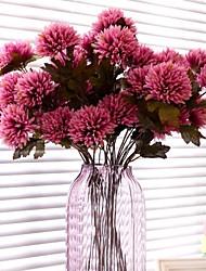3 Head/Branch Lifelike Chrysanthemum Artificial Flower