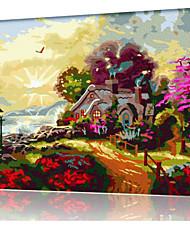 DIY digitales Ölgemälde Frame Familie Spaß Malerei alle von mir Märchenland x5033