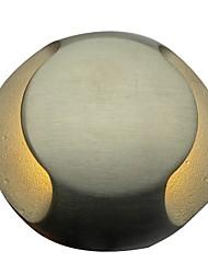 vista lateral de 2 vias 3 watts levou luz subterrâneo, luz plataforma, luz passo, luz inground
