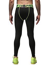 Course / Running Collants / Pantalon/Surpantalon / Bas Homme Respirable Course/Running Sportif Serré Noir M / L / XL