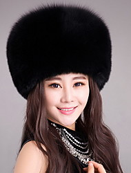 Women's Faux Fur Trapper Hat,Vintage Cute Casual Fall Winter