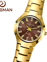 EASMAN® Watch Brand Women Gold Watch Tungsten Steel Watch Luxury Ladies Quartz Watch Designer Hot Fashion For Women Cool Watches Unique Watches
