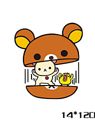 Funny Bear Car Sticker Car Window Wall Decal Car Styling