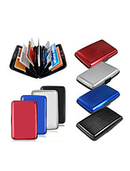 Latest Aluminum Rfid Blocking Credit Card Holder Case / Wallet for Women & Men - Stylish Travel Wallets - Best Protector