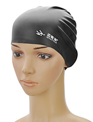 mystyle sc-101 elasticidade silicone nadar cap - preto