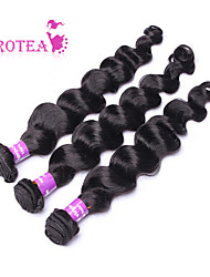 3Pcs/Lot 6A Peruvian Virgin Hair Loose Wave Unprocessed Peruvian Loose Wave Peruvian Virgin Hair Bundles Weaves