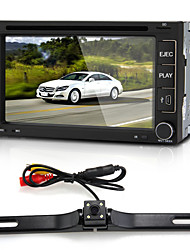 "6.2"" Car DVD Player Stereo In-Dash 2 DIN GPS SD Camera Europe Map for iPod"