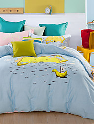print duvet cover Sets 100% Cotton Bedding Set Queen/Double/Full Size
