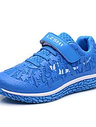 Da uomo-Sneakers-Casual-Comoda-Piatto-Tulle-Blu / Verde / Rosso