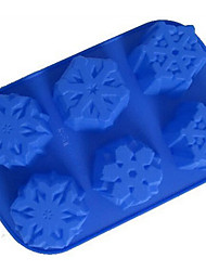 DIY Silicone Snow  Cake Mold Chocolate Mold   Random Color