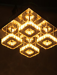 Contracted square dome light led the sitting room Crystal absorb dome light sitting room Restaurant bedroom  light