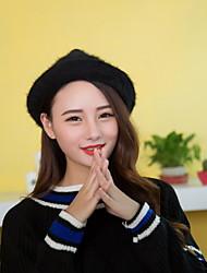 Women Cute Wool Acrylic Skullies Hats LD00051