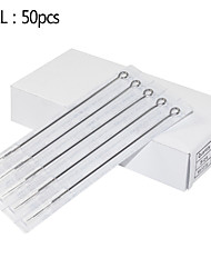 50pcs 11RL Needles Tattoo Stainless Steel for Tips 11rt Round Tips