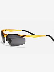 Ciclismo / Pesca / Gafas de visión nocturna hombres 's Polarizada / 100% UV / Lucha contra el viento Rectángulo Gafas de Deportes